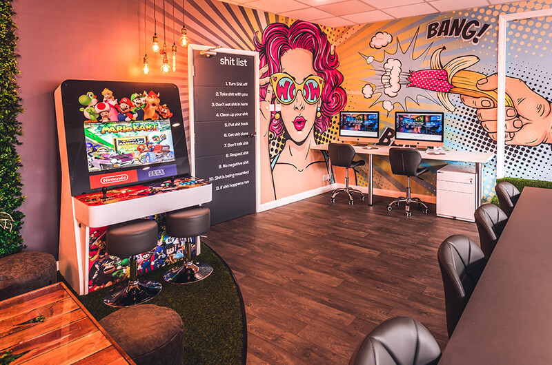 HiveTree collaborates with Edge Agency to build the most creative offices to let in Newcastle